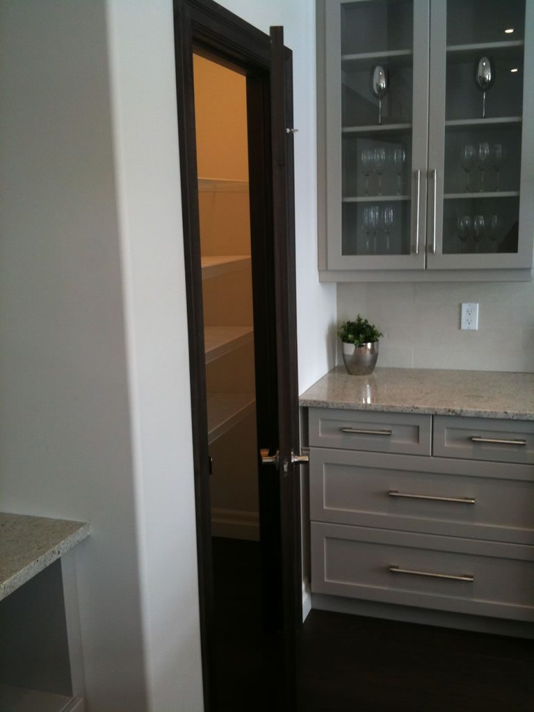 London Home Builders Millstone Homes - London Kitchen Pantry Opened12