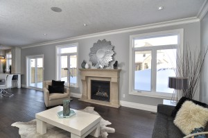 London Home Builders Millstone Homes - White Living