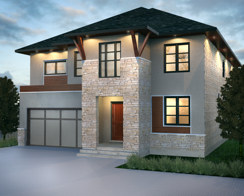 London Home Builders Millstone Homes - Exterior Talbot Village 1