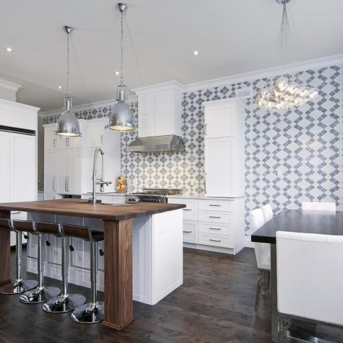 London Home Builders Millstone Homes - Bold Accents Kitchen 1