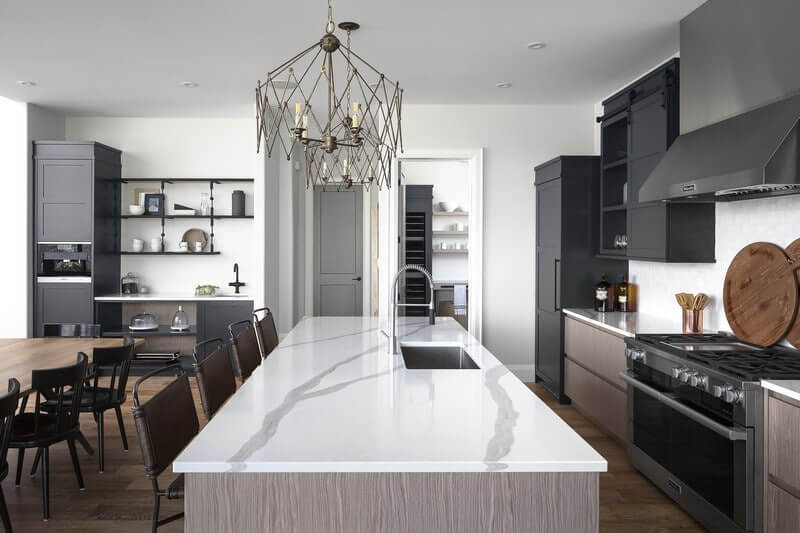 London Home Builders Millstone Homes - Carnegie Kitchen Dining Final