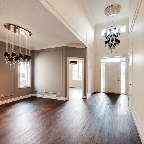 London Home Builders Millstone Homes - Contemporary Entry And Dining 1