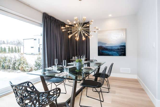 London Home Builders Millstone Homes - Marble Dining
