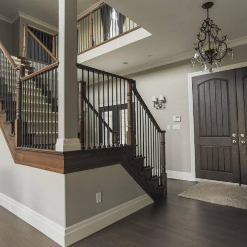 London Home Builders Millstone Homes - Marble Stairs