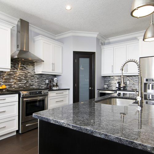 London Home Builders Millstone Homes - Stainless Steel Kitchen 1