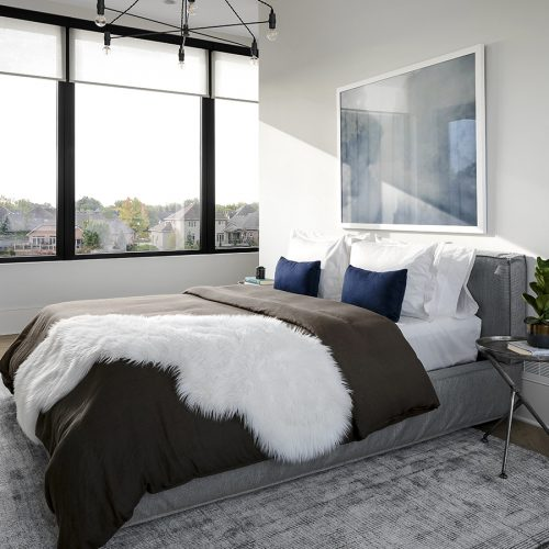 London Home Builders Millstone Homes - Bedroom 1 Silver Leaf Dream Home Interiors