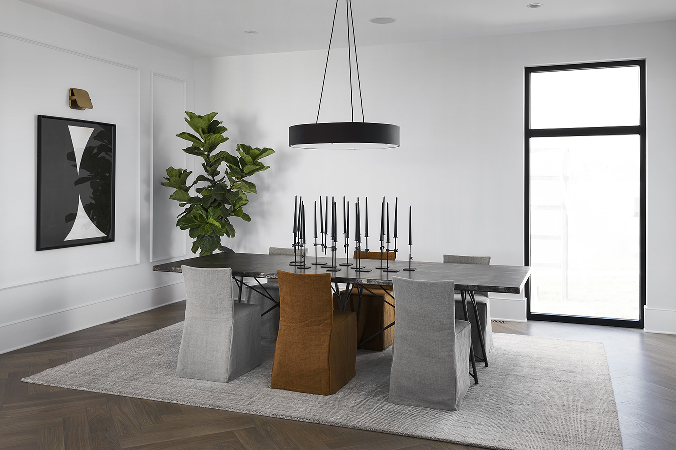 London Home Builders Millstone Homes - Dining 1 Silver Leaf Dream Home Interiors